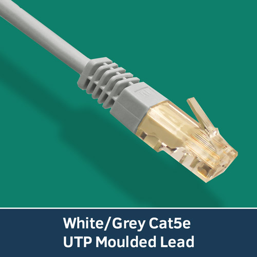 WhiteGreyCat5eUTPMoulded-Lead