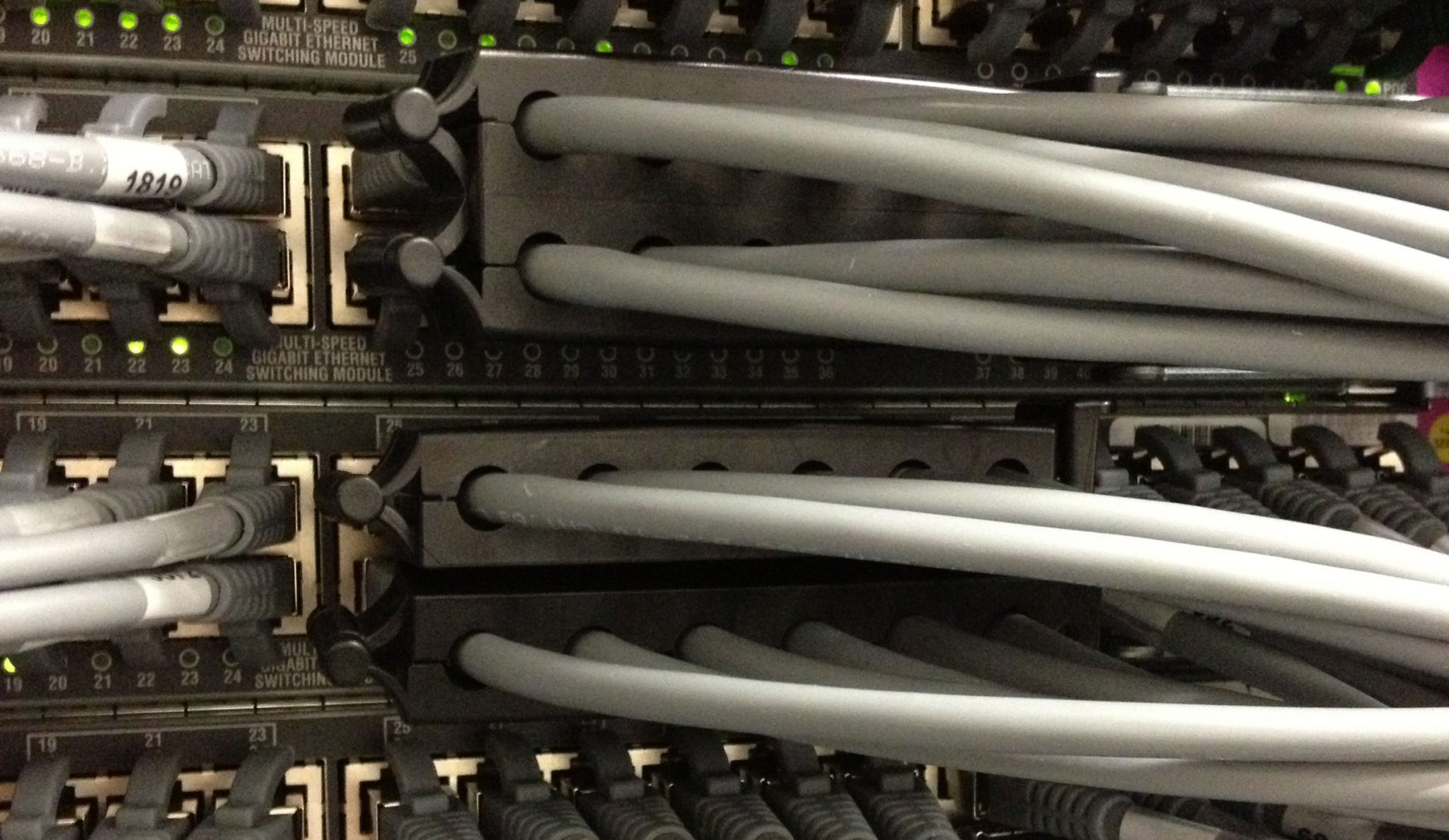network cable management clips