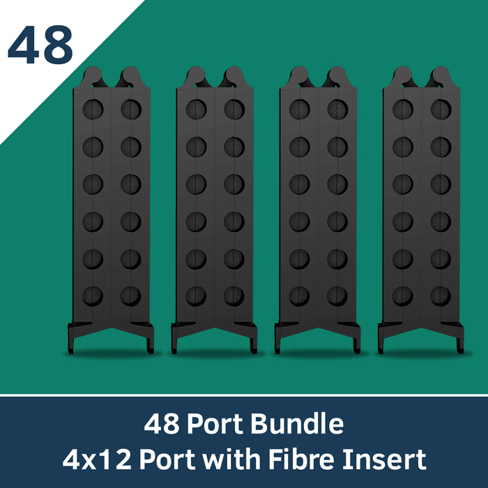 Cable Management with Fibre Insert