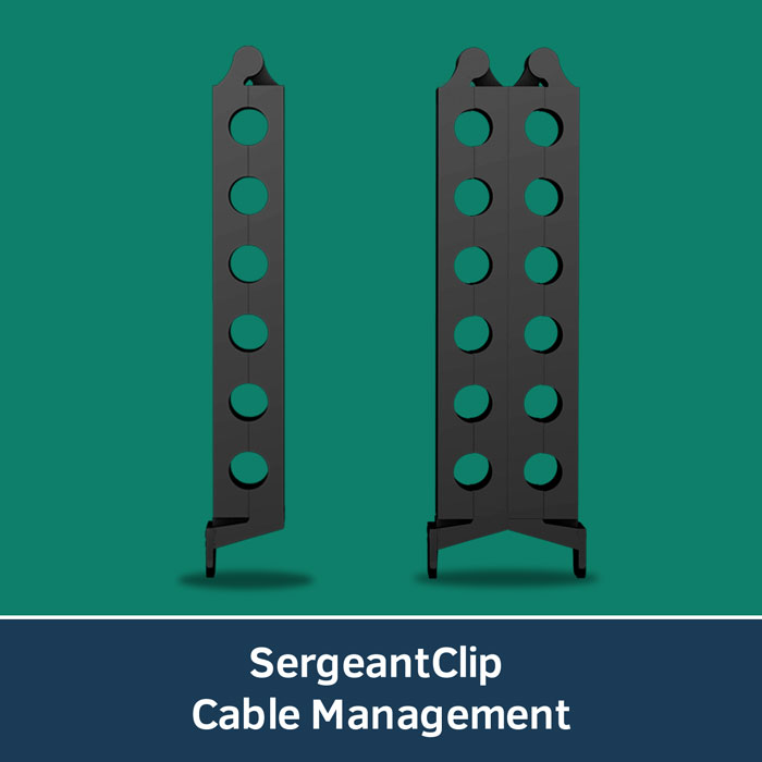 Cable Management from SergeantClip